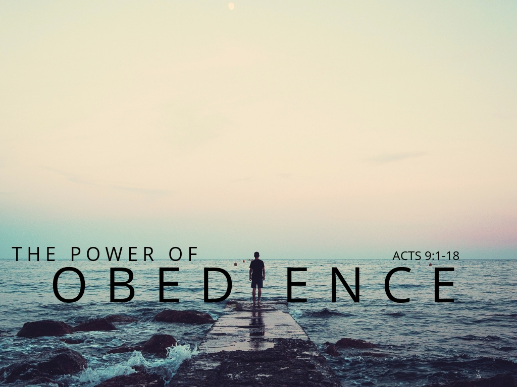 The Power of Obedience (John Soper)