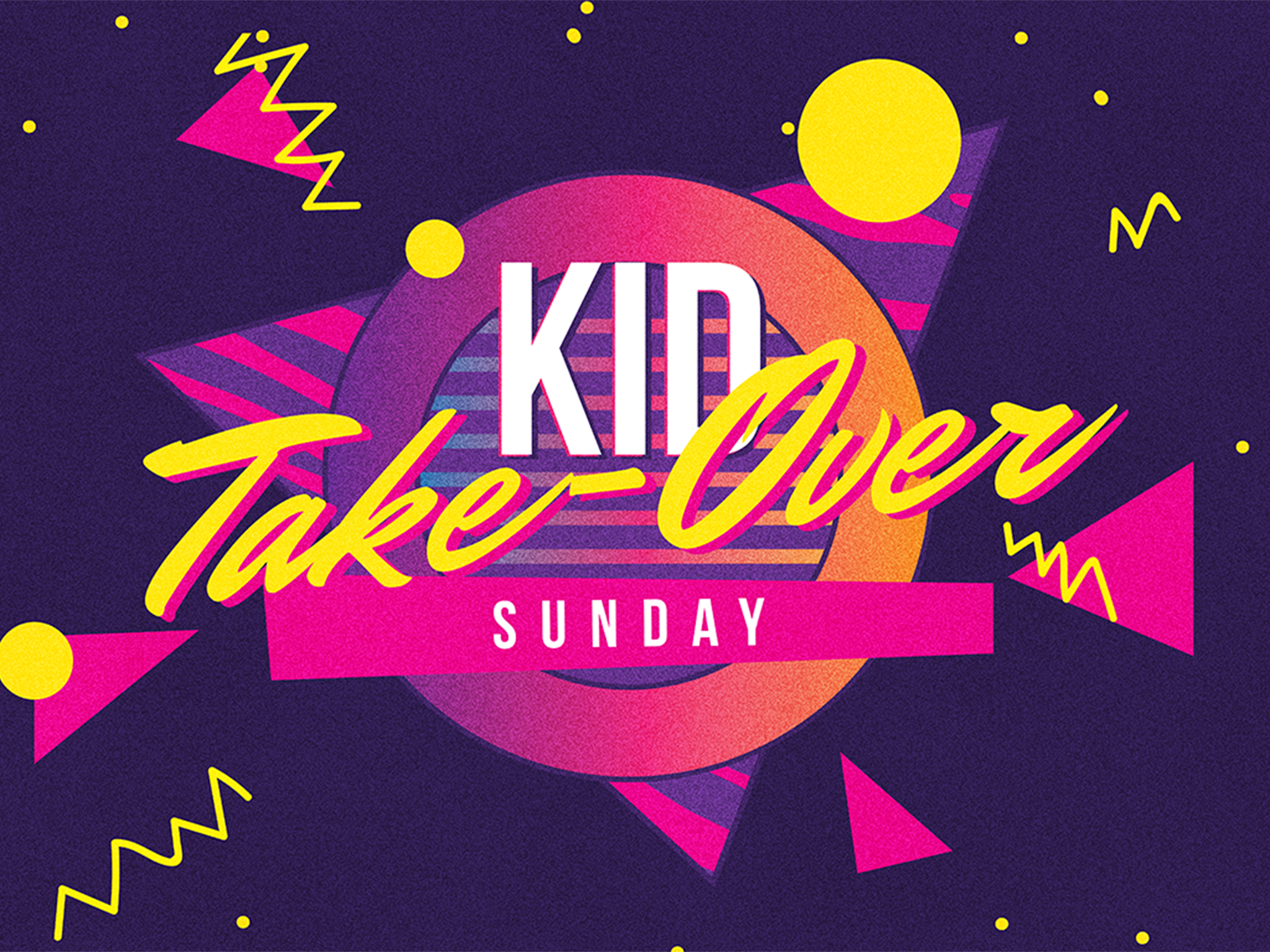 Kid Take-Over Sunday